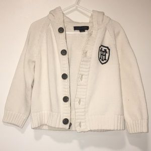 TOMMY HILFIGER -KIDS CABLE KNIT CARDIGAN